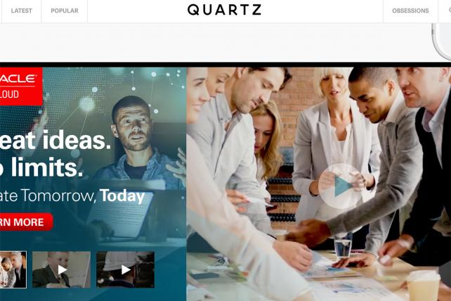Quartz' about-face on programmatic ads has big implications for digital publishing