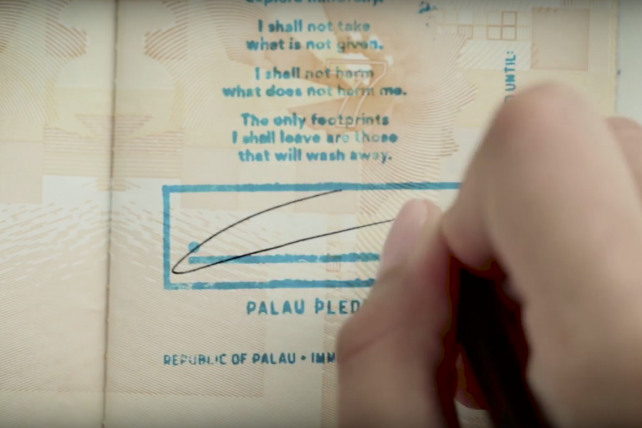 'Palau Pledge' wins two top honors at Clio Awards