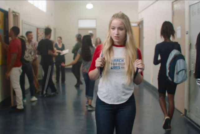 Kesha's March for Our Lives video goes on repeat to highlight the 'vicious cycle' of gun violence