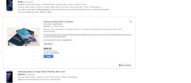 Google Still Listing Fire-Prone Samsung Note 7 Phone | Digital - AdAge