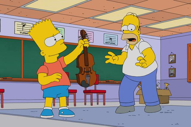 'The Simpsons' could include far fewer commercials this fall if marketers pay Fox a premium.