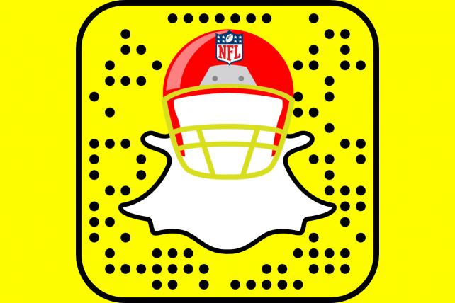 The NFL doubles down on its Snapchat strategy as other media partners scale back