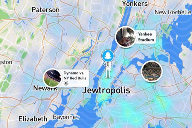 Snap slides after backlash to 'Jewtropolis' vandalism on NYC maps