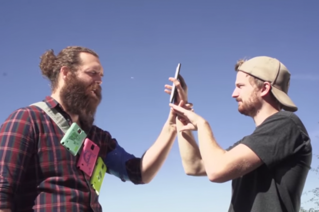 How the team behind 'SnapperHero' filmed the Snapchat-only series vertically.