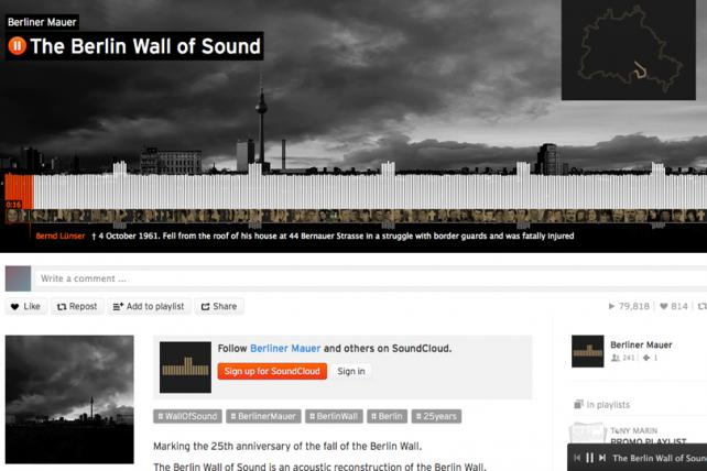 Soundcloud's Ominous Audio Recreation of the Berlin Wall Takes Radio Grand Prix at Cannes