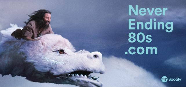 Spotify's Neverending Story Ad