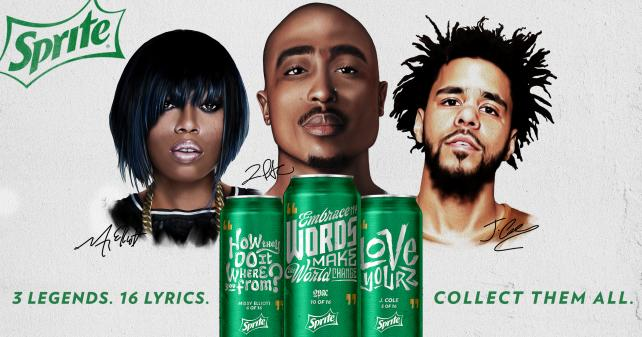 The second edition of the Sprite Obey Your Verse Lyrical Collection.