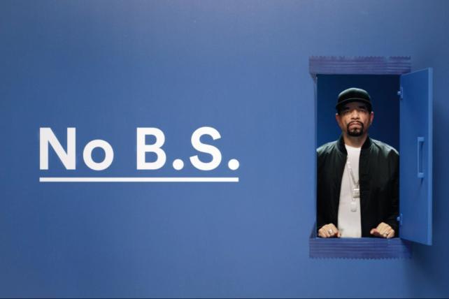Ice-T's 'No B.S.' spot