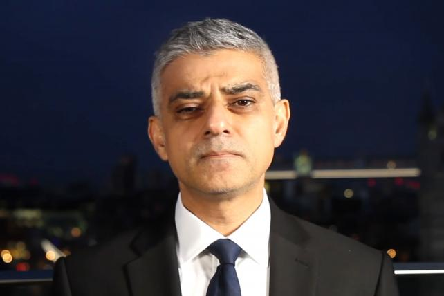 London Mayor Sadiq Khan Cancels Advertising Week Europe Talk