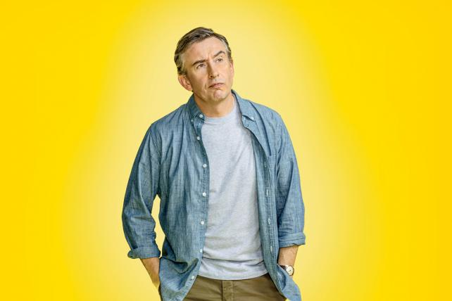 Steve Coogan in TV's latest take on advertising, Showtime's 'Happyish'