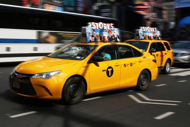 Verifone TaxiTV