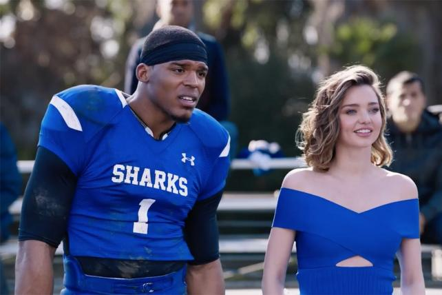 Buick's Super Bowl Ad Puts Cam Newton in Pee-Wee Game