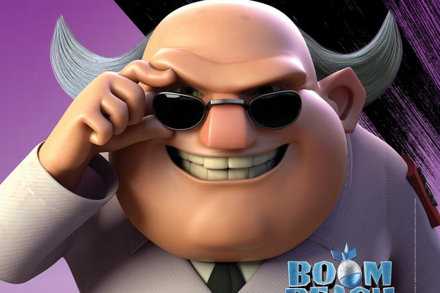 Boom Beach Supercell Dr. T Took Over Airwaves Super Weapon