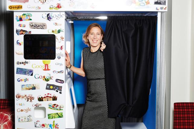 YouTube CEO Susan Wojcicki.