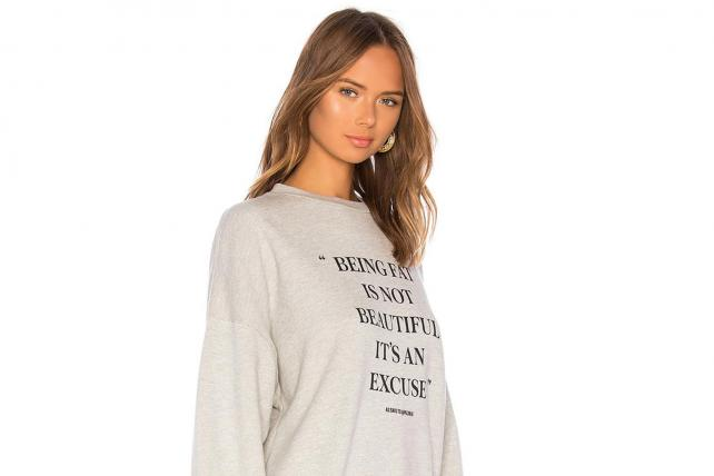 Everyone agrees that fat-shaming sweatshirt was a bad idea