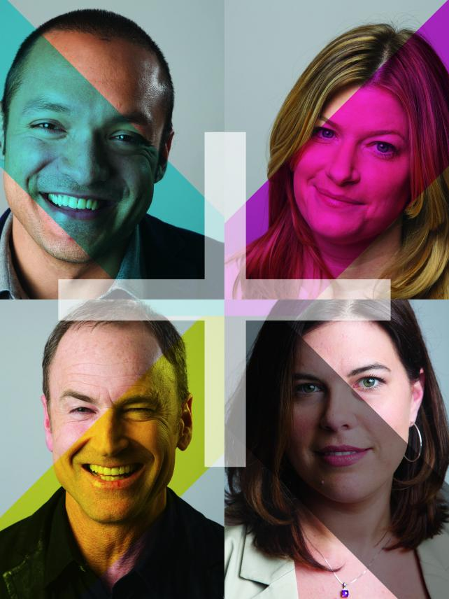 Top left: Amir Haque, agency co-founder and partner; top right: Jennifer Parke, exec creative director; bottom left: Lucas Donat, founder, CEO and chief creative officer; bottom right: Christy Ferguson, group account director.