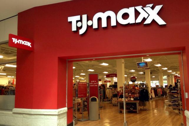 T.J. Maxx storefront 3x2