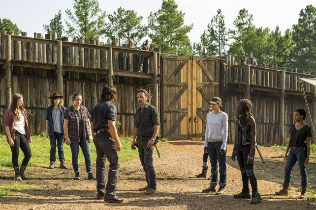 Ratings slide be damned, AMC's zombie-apocalypse serial remains a juggernaut.