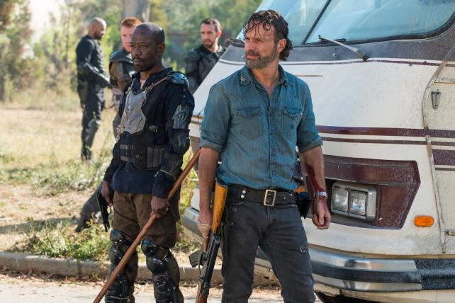 The new season of 'The Walking Dead' will include some very short ads, if AMC finds buyers.