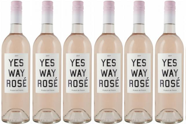 Yes Way Rosé is introducing its signature rosé, available at Target.
