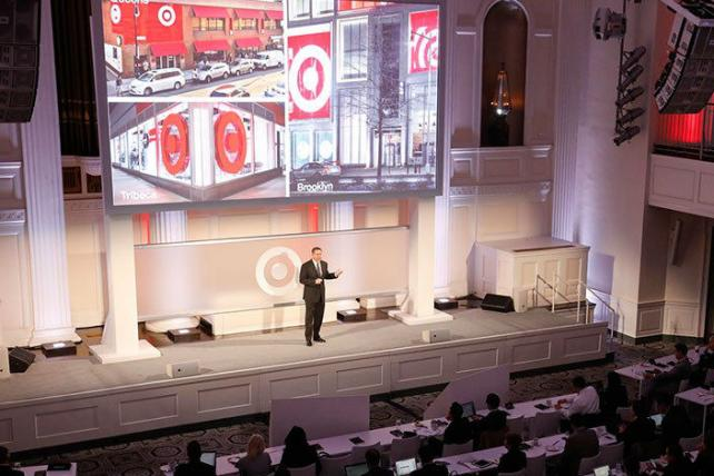 Target unveils its 2017 strategy at its annual financial community meeting in New York.