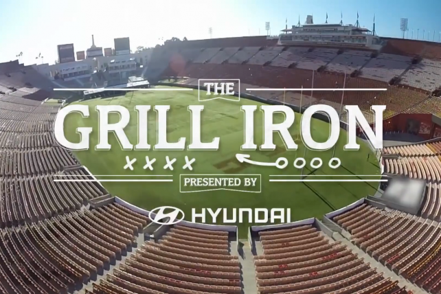 Tastemade's tailgating series 'The Grill Iron' will air on The Cooking Channel.