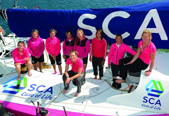 B-to-B Brand SCA Uses Ocean Race to Update Perceptions
