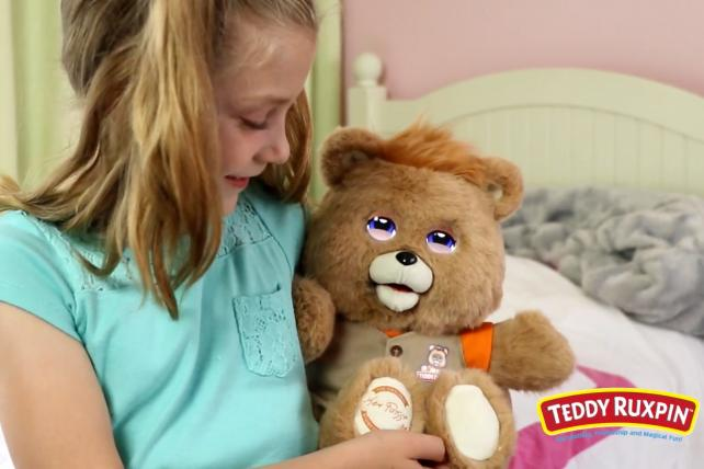 The all-new Teddy Ruxpin by Wicked Cool Toys.