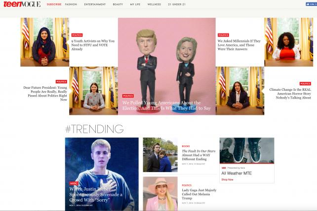 Teen Vogue's digital operations will get more investment as Condé Nast reduces its print frequency, the company said.