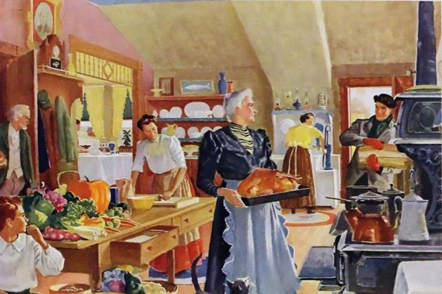 A vintage Heinz ad from when Thanksgiving was 'Franksgiving'
