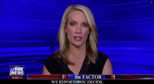 Dana Perino on 'The Factor' Wednesday night, after 21st Century Fox said Bill O'Reilly would no longer host the program.