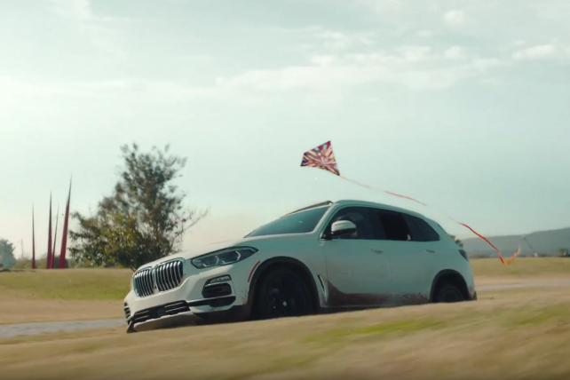In marketing stunt, BMW drives in the straightest line possible across U.S.