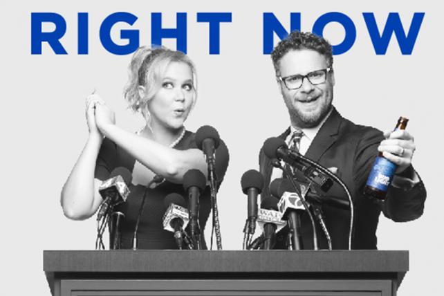 Bud Light Puts Amy Schumer, Seth Rogen in Super Bowl Ad