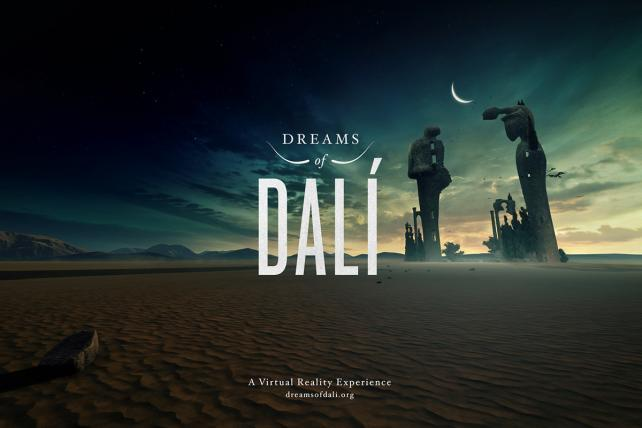 This 360-degree Dali video was entered in last year's Facebook awards.