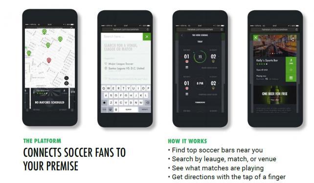 The Ultimate Soccer Supporter Bar Finder