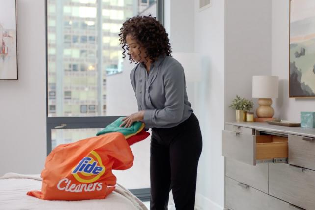 Procter & Gamble goes nationwide with its Tide laundry service