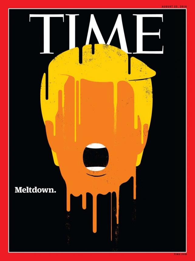 Time Magazine cover by Edel Rodriguez