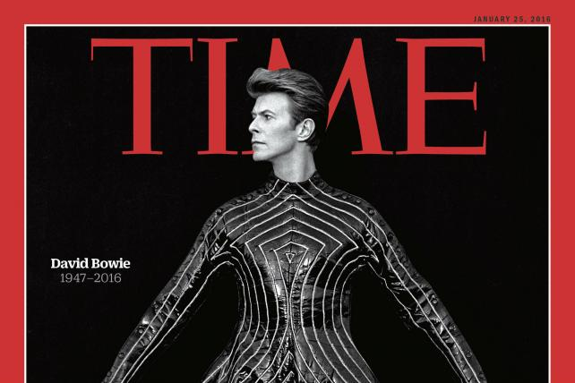 Here's Time's Stunning David Bowie Memorial Cover