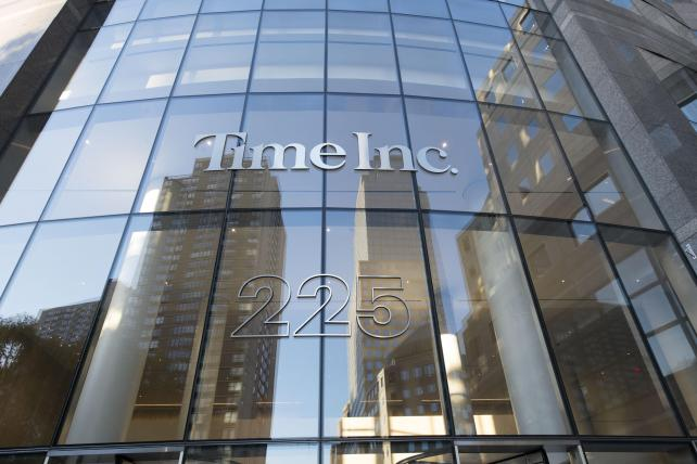 Time Inc.'s new headquarters at 225 Liberty Street in lower Manhattan.