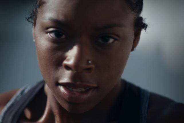 Watch Toyota's Super Bowl ad starring a female football player