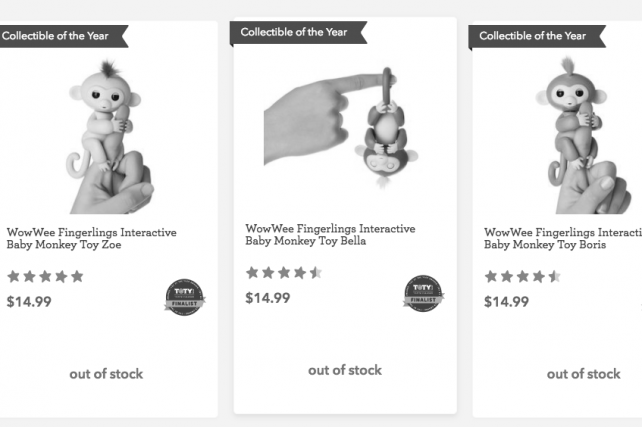 Toys R Us sold out of some must-haves before Cyber Monday.