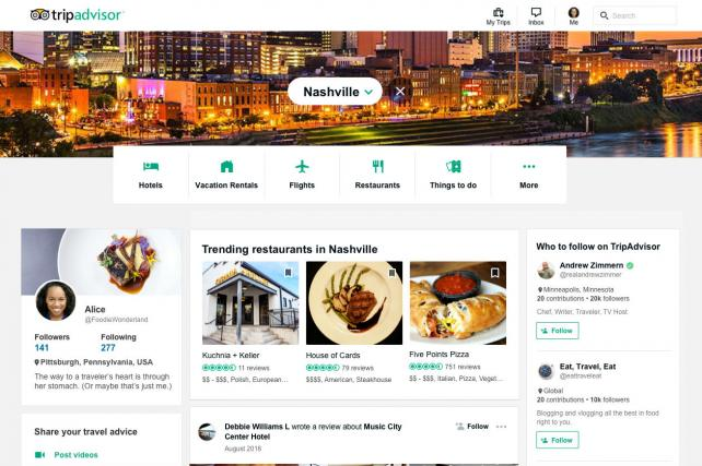 TripAdvisor plans a social network via new feed, site and partners