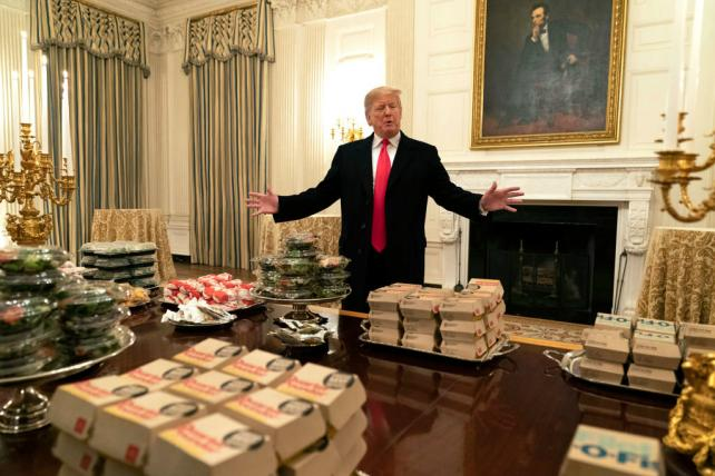 President Trump plugs fast food, and a Gillette ad sparks debate: Tuesday Wake-Up Call