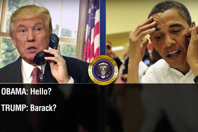 Conan O'Brien Tapped Trump and Obama's Call About Tapping