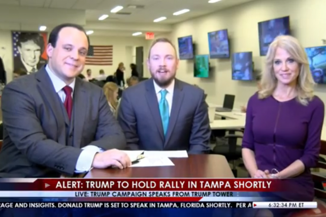 The Trump campaign's new Facebook Live show stoked speculation that the candidate plans to begin a media network if he loses the presidential election.