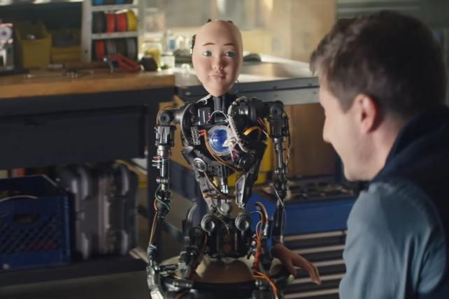 TurboTax Live 2019 Super Bowl 'RoboChild' TV ad