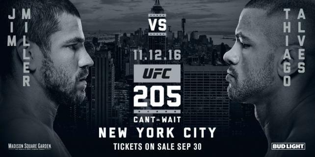 UFC Returns to New York With Marketing Blitz