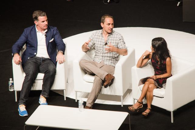 Under Armour CEO Kevin Plank and Droga5 Founder/Creative Chairman David Droga Discuss Their Partnership With Creativity Editor Ann-Christine Diaz at Cannes Lions 2016