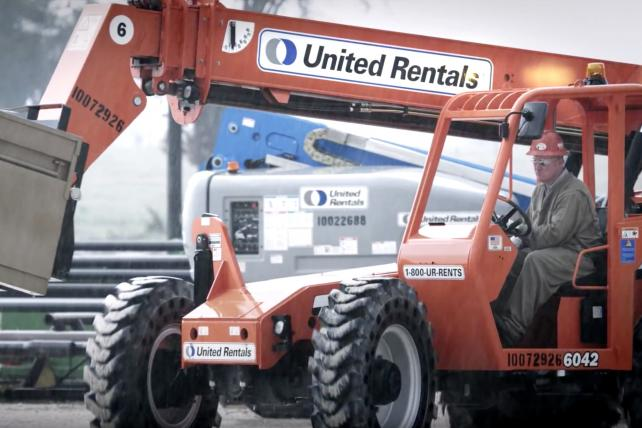 Big-time shops duke it out for United Rentals' agency business