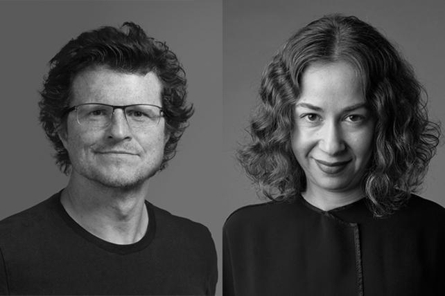 R/GA's newly appointed U.S. chief creative officers Taras Wayner and Chloe Gottlieb.